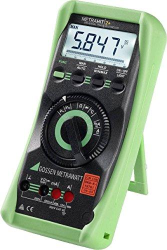Gossen Metrawatt Metrahit 2+ Digital Multimeter LCD CAT III 600 V by GOSSEN METRAWATT