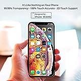 Syncwire Lot de 3 films de protection d'écran en verre blindé pour iPhone 11 Pro Max/XS Max, sans bulles SyncProof HD 9H, Dureté anti-bulles pour iPhone XS Max/iPhone 11 Pro Max