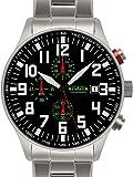 Astroavia Orologio da Polso Cronografo da Uomo Acciaio Inox N55S