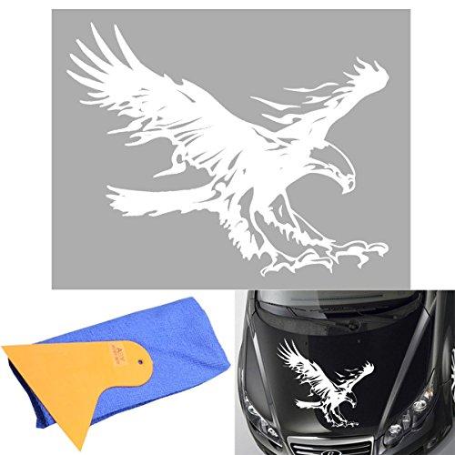 ABy 1 x fliegenden Adler Auto ufkleber für Auto Van Fenster Motorhaube Helm, Auto-Dach, Wände, Autoreifen-Abdeckung und mehr -19.68