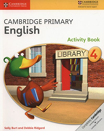 Cambridge Primary English. Activity Book Stage 4