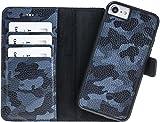 Solo Pelle Iphone 7/8 abnehmbare Lederhülle...