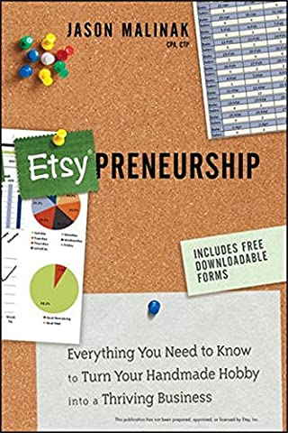 Etsy-preneurship: Everything You Need to Know to Turn Your Handmade Hobby into a Thriving Business