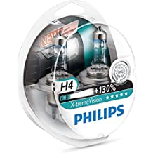 Philips 12342XV+S2 X-treme Vision Lampada Alogena H4, 12V 60/55W - Plymouth Grand Voyager Faro