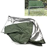 WarmieHomy 3m x 2m Spare PVC UV Roof Cover for Chicken Run Coop Rabbits Hen Ducks Cage Sunshade Protection Cover