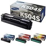 CLT-K504S/ELS Samsung Original Toner Schwarz/Cyan/Gelb/Magenta - Kompatibel mit: CLP-415/ CLX-4195/ SL-C1810W/ SL-C1860FW