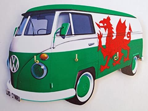 VW Campervan Welsh Key Rack - VW26S