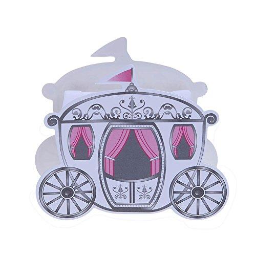Unterbrechen 12Kürbis Kutsche Candy Boxen Baby Dusche Gastgeschenken Party Geschenk-Box