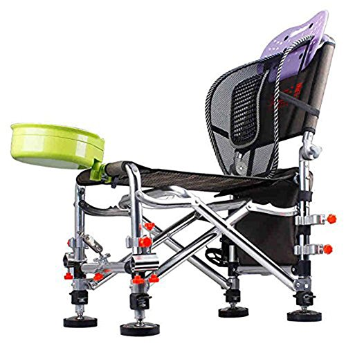 AN-LKYIQI Chaise de sac de pêche,tabouret léger portable pliant en plein air pour picnic Barbecue Sketch Fishing , C