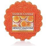 Yankee Candle Bougie parfumée Miel Clementine Tartelettes en cire, rouge