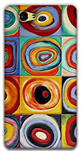 The Racoon Grip printed designer hard back mobile phone case cover for Sony Xperia Z1 Compact. (Circles -)