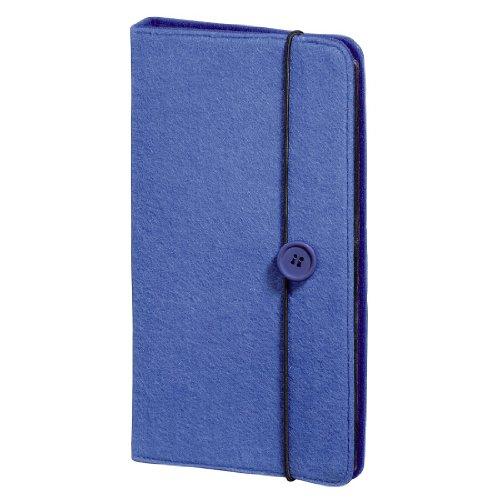 (zur Aufbewahrung und Schutz für 48 CDs, DVDs und Blu-rays) blau (Cd-hüllen Blau)