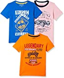 #8: Cherokee Boys' Plain Regular Fit T-Shirt (Pack of 3)