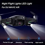 For DJI Mavic Air Night Flight LED Lights,Diadia Quick Release 1 Pair 30 Degree Adjustable Night Flight Lamp Replacement for DJI Mavic AIR Drone Accessories from Diadia