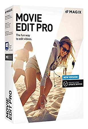 MAGIX Movie Edit Pro – 2018 - Newest Version, Old Packaging