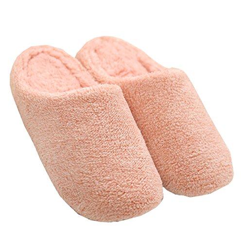 Mianshe Calde Soffici Pantofole Morbide Per Signore Rosa