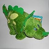 Plüschtier Dinosaurier grün 34 cm