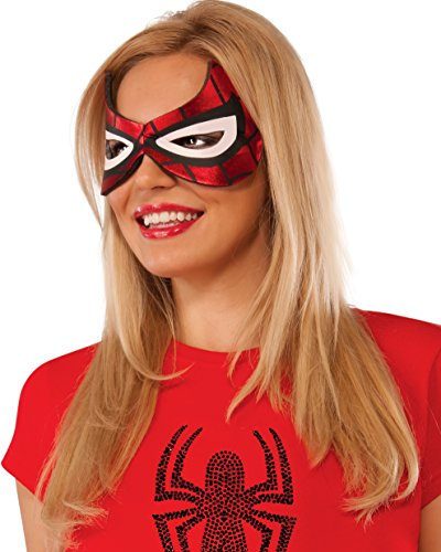 Spider-Girl Costume Eyemask (White Kostüm Spiderman)