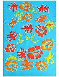 toutacoo Paréo Batik Indonésien - Teint à la Main