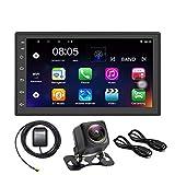 Panlelo S1NV Auto Radio AM FM RDS Touch Screen 2 Din Full HD Android 8.1 Navigazione GPS Auto StereoQuad Core 1 GB RAM 16 GB ROM Bluetooth WiFi SWC Telecamera posteriore inclusa
