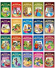 Forever Classics (Set of 20 Fairy Tales with Colourful Pictures)- Story Books for Kids - Aladdin, Cinderella, Goldilocks and the Three Bears, ... Hansel and Gretel, Beauty and the Beast