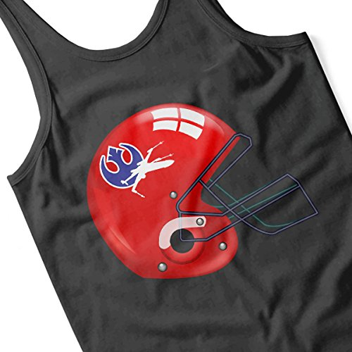 Star Wars Rogue One X Wing Football Helmet Men's Vest Black