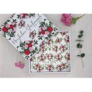 Geldgeschenk/Gutschein Verpackung zur Hochzeit oder Geburtstag PERSONALISIERT Garden of Love