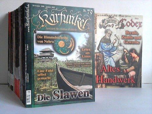Zeitschrift für erlebbare Geschichte. Sammlung von 40 Ausgaben