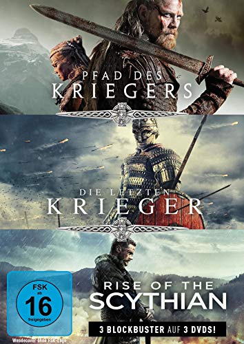 Krieger-Box: Pfad des Kriegers, Die letzten Krieger & Rise of the Scythian (3 DVDs)