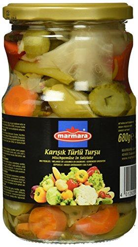 Marmara Eingelegtes Mischgemüse, 12er Pack (12 x 680 g)