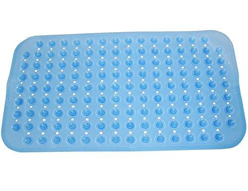 Felpudos de Baño Diseño de goma alfombra de baño de hidromasaje Mat Mat Salud del pie de limpieza para el baño o ducha Bañera -Naturales goma estera no del resbalón -La mejor seguridad adición para su ducha o bañera con acogedor burbuja pie Color Grip azu