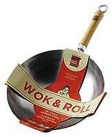 Con base tonda. serve 3-4. Consigliato per l' uso con fornelli a gas.Nota: deve essere utilizzato con un wok.circa il rangebe un wok Star. You don' t need a scuola covent Garden pluripremiato di WOK per cucinare cibo cinese, come un profess...
