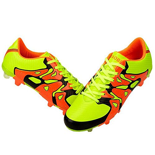 Mr. LQ - Adulti combattimento scarpe e formazione scarpe calcio giovanile Green
