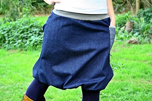 Ballonrock PAULIZ – Damen Ballonrock aus Jeans - 6