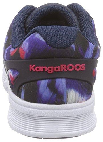 KangaROOS K-Light 8012 B, Low-Top Sneaker Unisex – adulto Blu (Blau (dk navy multi 469))