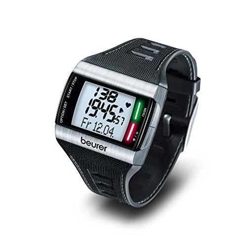 Preisvergleich Produktbild Beurer Herzfrequenz-Pulsuhr PM 62,  Brustgurt,  Pulsmesser,  PC-Schnittstelle,  schwarz