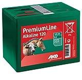 PREMIUMLINE Weidezaunbatterie Trockenbatterie Alkaline 9V 120 Ah