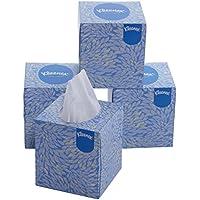 Kleenex Facial Tissue Cube Box, 80 Sheets per Box , 2 Ply, 4 Box Combo, 60042 by Kimberly-Clark