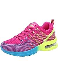 Zapatillas Deportivas Cuna Mujer Casuales,Las Mujeres de Moda Transpirable cómodo Deporte Deportivo Zapatillas Zapatos