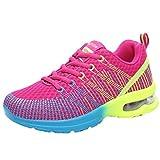 Zapatillas Deportivas Cuna Mujer Casuales,Las Mujeres de Moda Transpirable cómodo Deporte Deportivo Zapatillas Zapatos para Correr