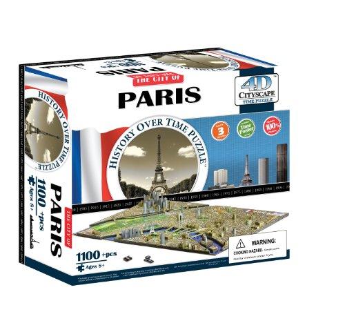 4D Cityscape 40028 - Paris Puzzle