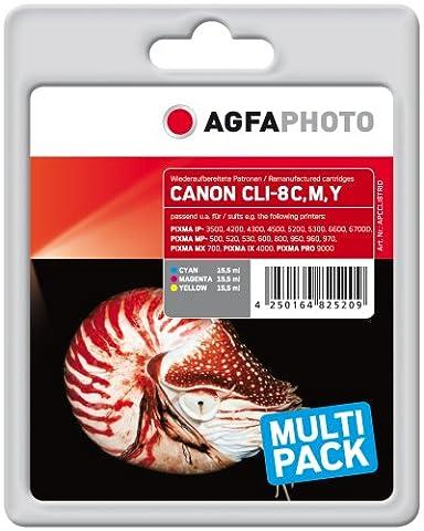 Agfa Photo APCCLI8TRID Cartouche d
