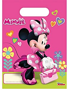 Disney 53826 Minnie Mouse - Bolsas de decoración para Fiesta