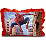 Sleep Nature's Baby Pillow For Kids Soft Baby Pillow Rectangle Shape Soft Toys Cartoon Printed Red Colour Pillow Pillow Size 14x20 Inches 94