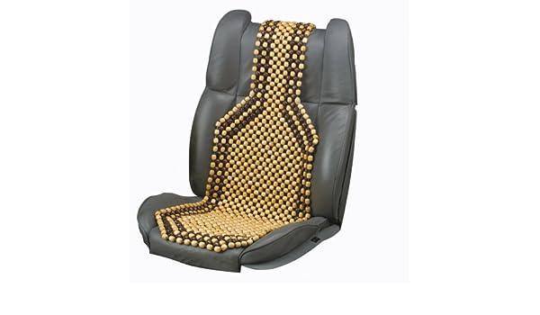 82 x 40 cm Unitec 75740 ooden Beads Massage Seat