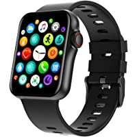 """Bfit Alpha 2 Bluetooth Calling Smart Watch 1.6"""" IPS HD Curved Glass Full Touch Display, SpO2, BP & Heart Rate Monitor…"""