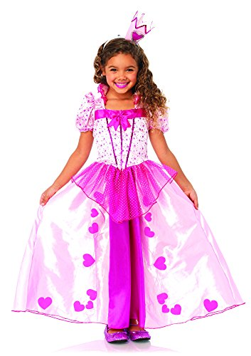 Sweetheart Princess Kostüm Set, 2-teilig, Größe S, rosa (Sweetheart Prinzessin Kind Kostüme)