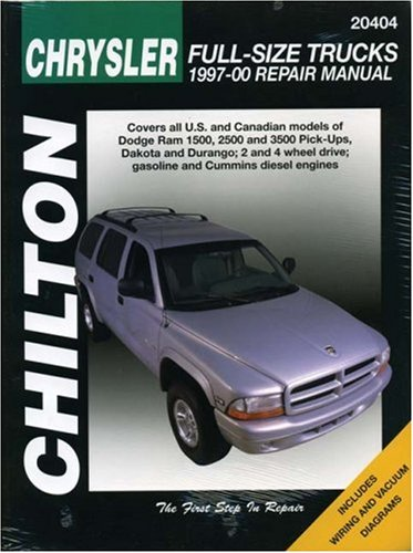 chiltons-chrysler-full-size-trucks-1997-2000-repair-manual-covers-all-us-and-canadian-models-of-dodg