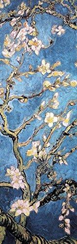 1art1 102405 Vincent Van Gogh - Blühende Mandelbaumzweige, 1890, 1-Teilig Fototapete Poster-Tapete 250 x 79 cm -