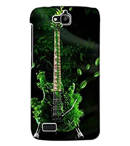 ColourCraft Amazing Guitar Design Back Case Cover for HUAWEI HONOR HOLLY